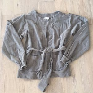 Anthropologie t. La cardigan sweatshirt